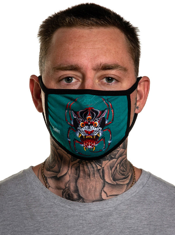Hing Panther Face Mask by Sullen