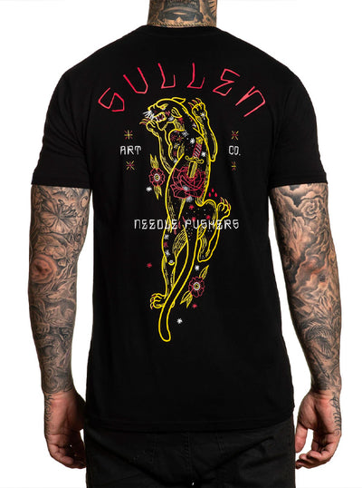Men's Golden Panther Tee by Sullen