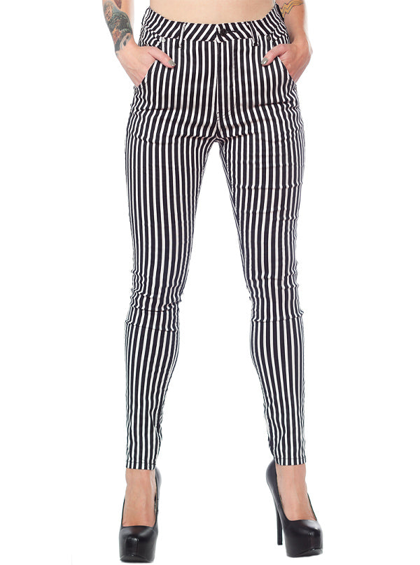 Women's Essential 5 Pocket Stretch Pants by Sourpuss