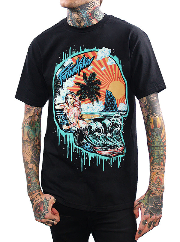 Men's Paradise Skull Tee by Fortune Killer