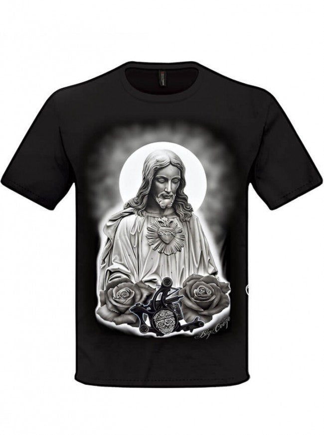 "Men's ""Passion"" Tee by Big Ceeze Clothing (Black) - www.inkedshop.com"