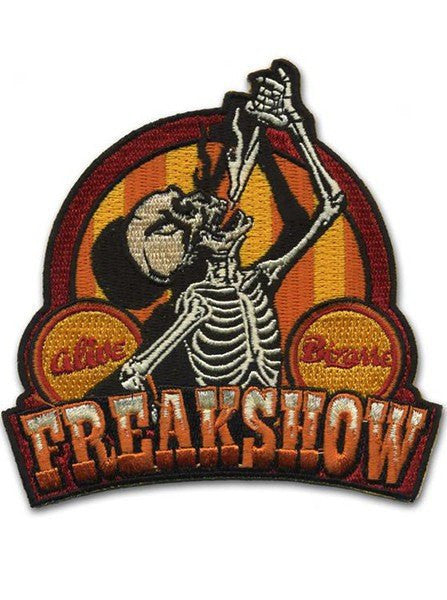 """Freakshow"" Patch by Retro-a-go-go - www.inkedshop.com"
