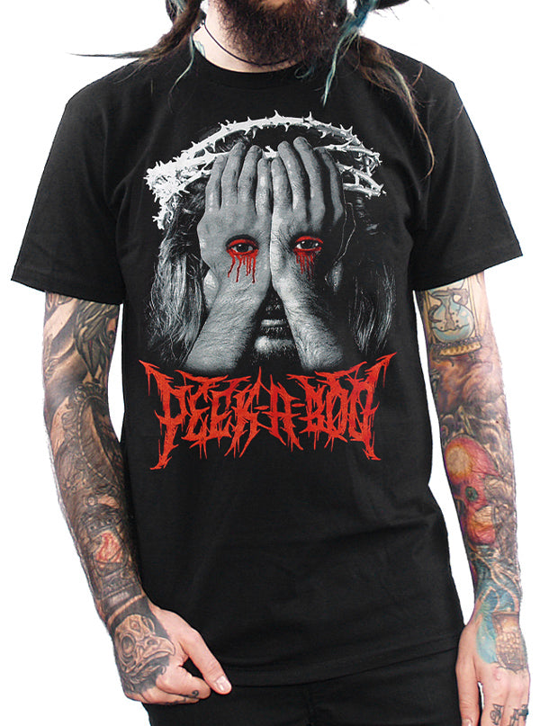 Men's Peek-a-boo Tee by Skygraphx