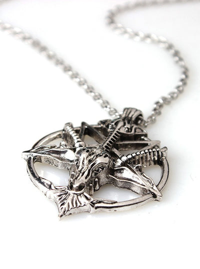 Vintage Baphomet Necklace