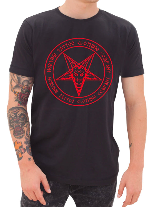 Men's Pentagram Tee by Norvine