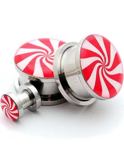 Peppermint Plugs by Mystic Metals - www.inkedshop.com