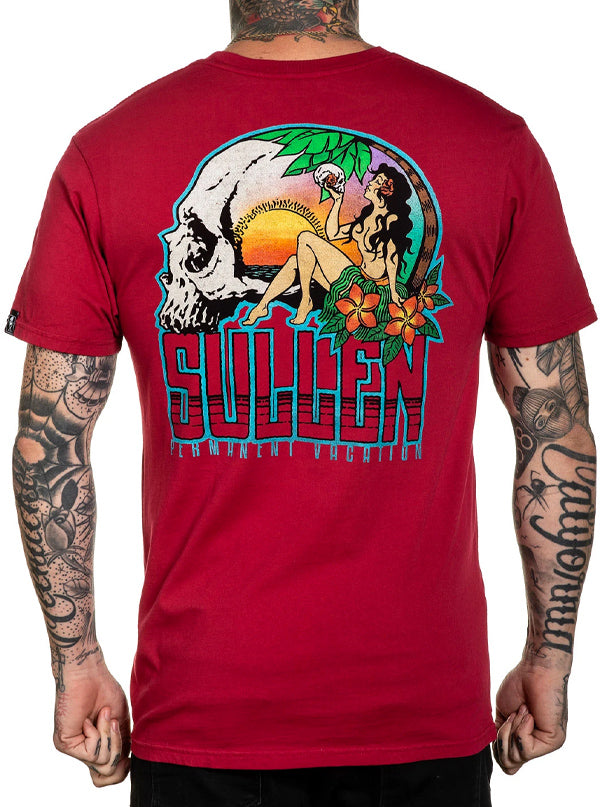 Men's Permanent Vacation Tee by Sullen