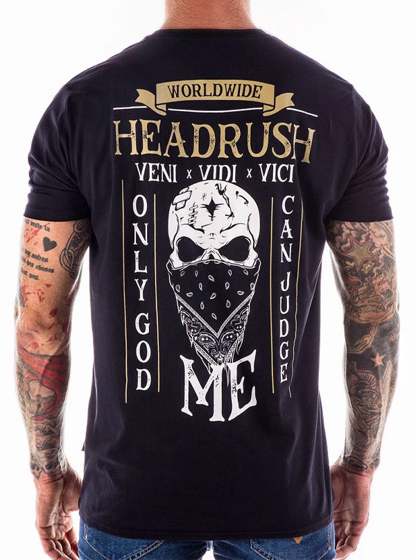 "Men's ""Phantom Lord"" Tee by Headrush Brand (Black)"