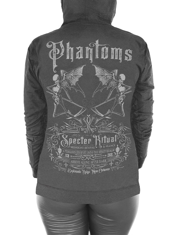 Women's Phantoms Hoodie by Serpentine Clothing