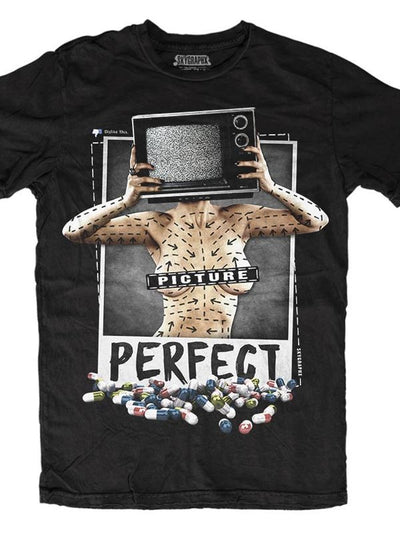 "Men's ""Picture Perfect"" Tee by Skygraphx (Black)"