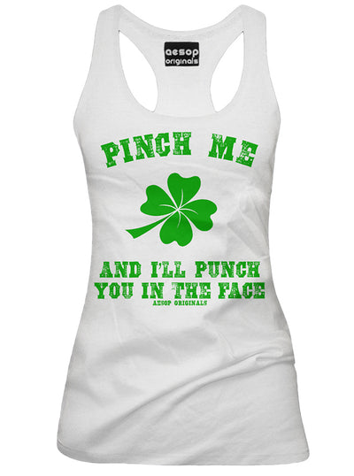 Women's Pinch Me & I'll Punch You Tank by Aesop Originals