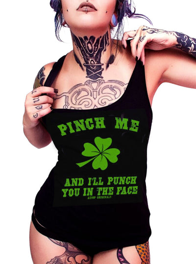 "Women's ""Pinch Me & I'll Punch You"" Tank by Aesop Originals (More Options)"
