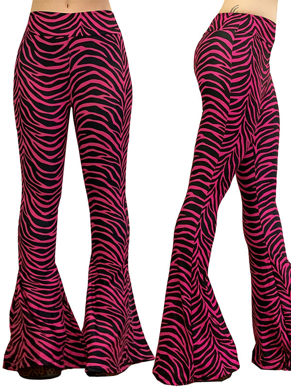 Women's Raving Diva Doll Bell Bottom Flares by Too Fast