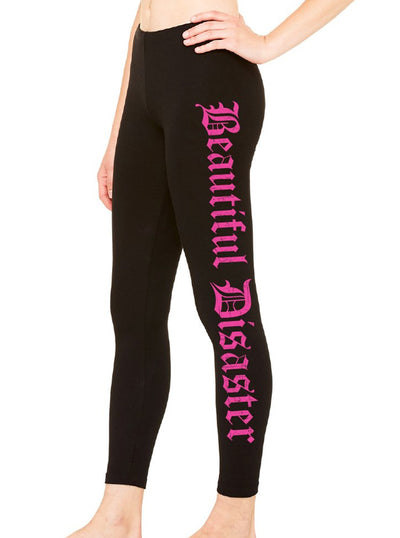 Women's Punk Princess Leggings by Beautiful Disaster