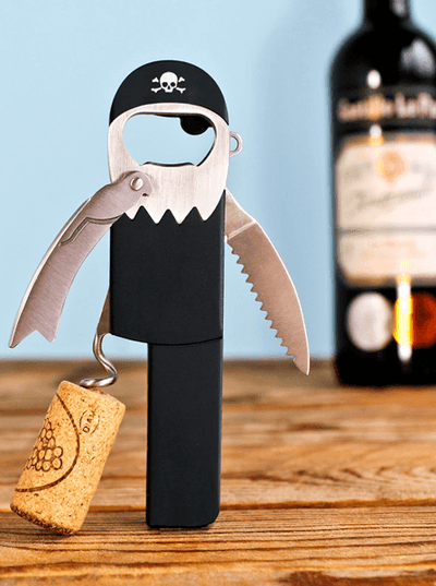 """Legless Pirate"" Bottle Opener (Black) - www.inkedshop.com"