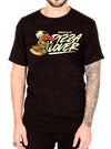 "MEN'S ""PIZZA LOVER"" TEE BY SKELLY & CO (BLACK)"