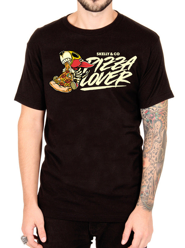 MEN'S PIZZA LOVER TEE BY SKELLY & CO