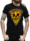"MEN'S ""PIZZA LOVE"" TEE BY SKELLY & CO (BLACK)"