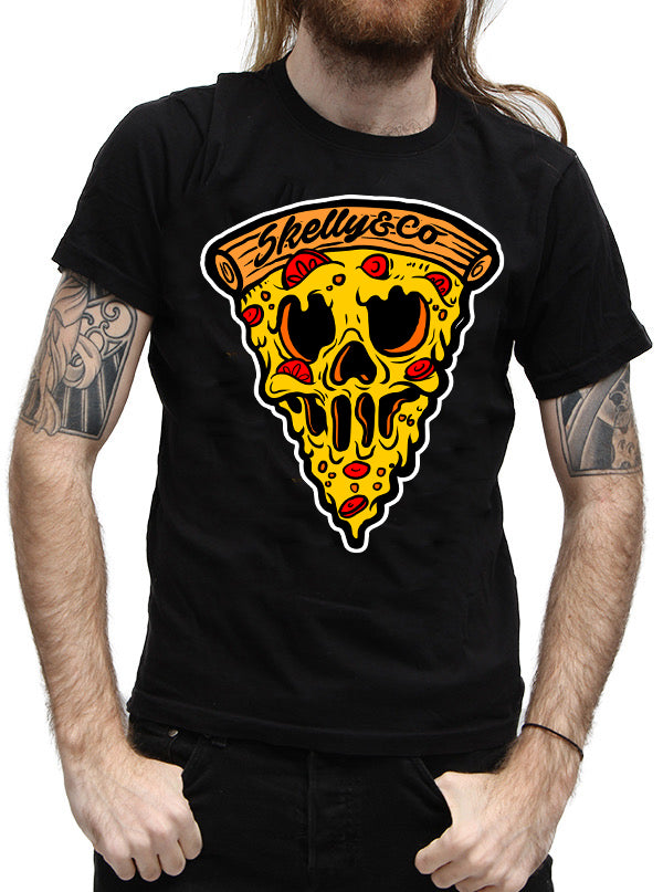 MEN'S PIZZA LOVE TEE BY SKELLY & CO