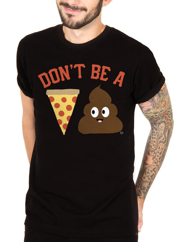 Men's Pizza Poop Tee by Goodie Two Sleeves
