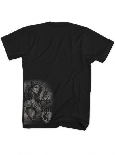 "Men's ""Playcards 016"" Tee by OG Abel (Black) - www.inkedshop.com"