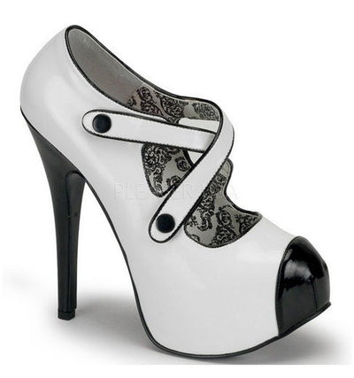 Criss Cross Velcro Strap Pump by Bordello - InkedShop - 1
