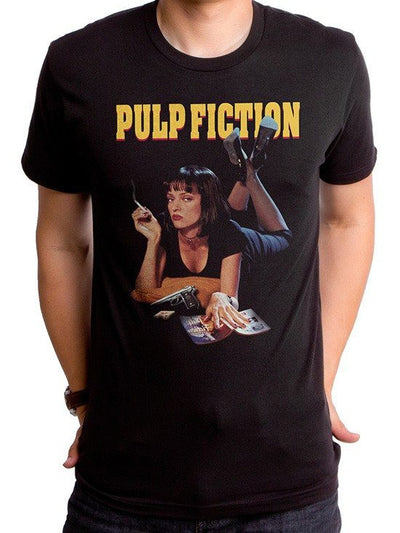 "Men's ""Pulp Fiction"" Tee by Goodie Two Sleeves (Black) - www.inkedshop.com"
