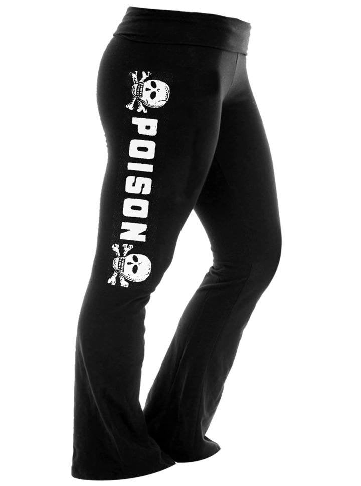 "Women's ""Poison"" Hangover Pants by Se7en Deadly (Black) - www.inkedshop.com"