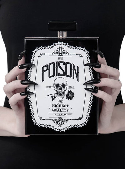 Pure Poison Clutch Bag by Killstar