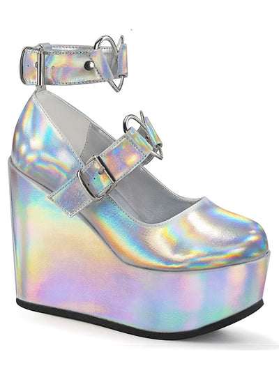 Women's Poison 99 Wedge Platforms by Demonia