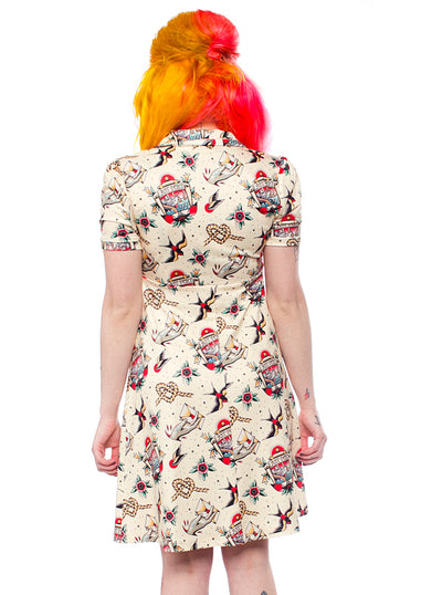 Women's Last Port Rosie Dress by Sourpuss
