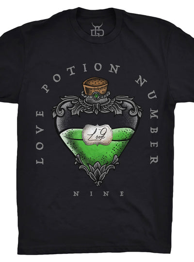Unisex Love Potion Number Nine Tee by Ghost and Darkness