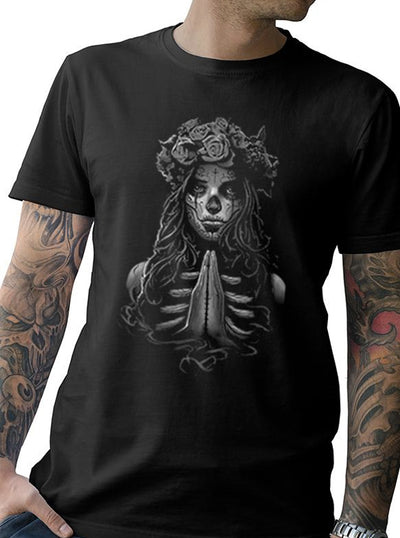 Men's Livin' on a Prayer Tee by Tat Daddy