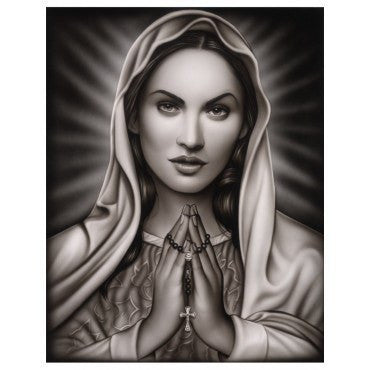 Praying Mary by Spider - InkedShop - 2