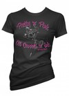 "Women's ""Pretty in Pink"" Tee By Pinky Star - InkedShop - 1"