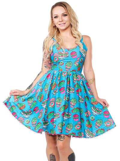 Women's Prickly Delights Sweets Dress by Sourpuss