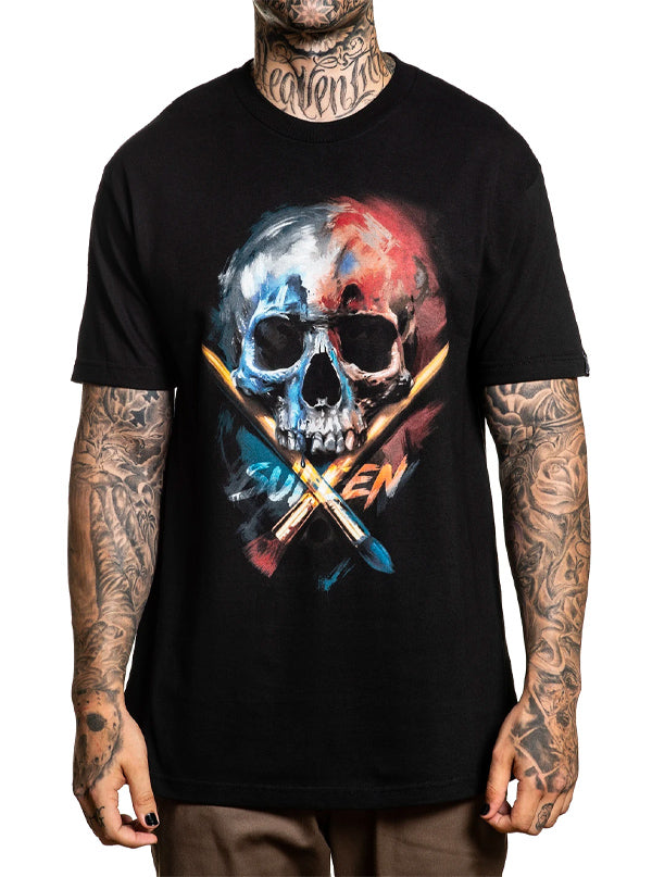 Men's Primary Badge Tee by Sullen
