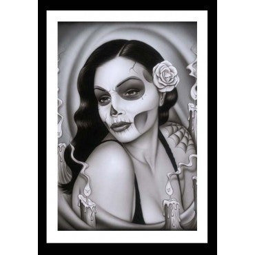 Day of the Dead Aria Art Print - InkedShop - 1