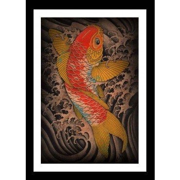 Koi Print by Clark North - InkedShop - 1