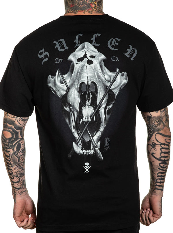 Men's Prudente Skull Tee by Sullen