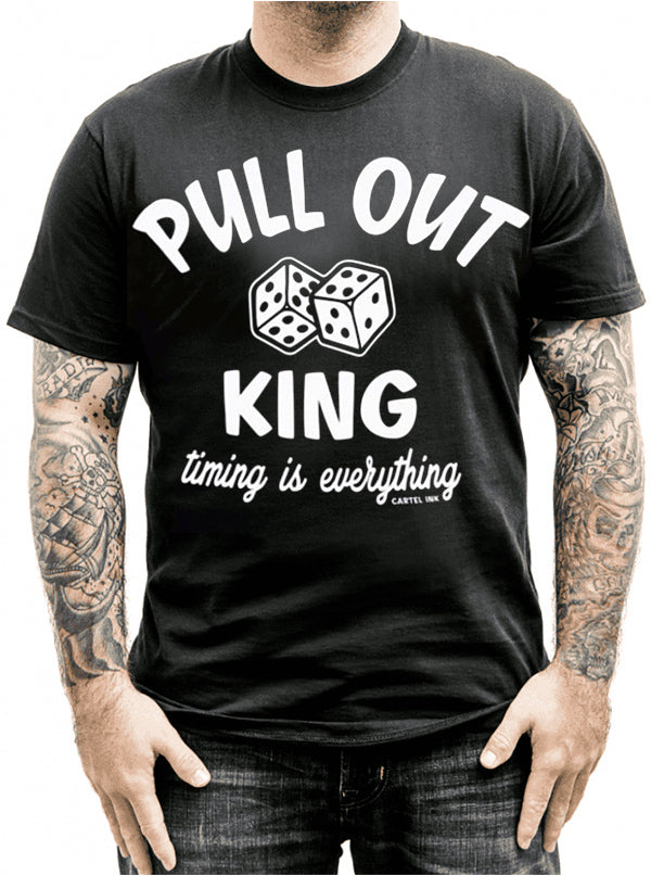 Men's Pull Out King Tee by Cartel Ink