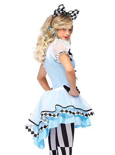 "Women's ""Psychedelic Alice"" Costume by Leg Avenue (Blue)"