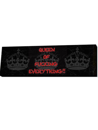 Queen of Everything Wall Art by Lamp in A Box (More Options) - www.inkedshop.com