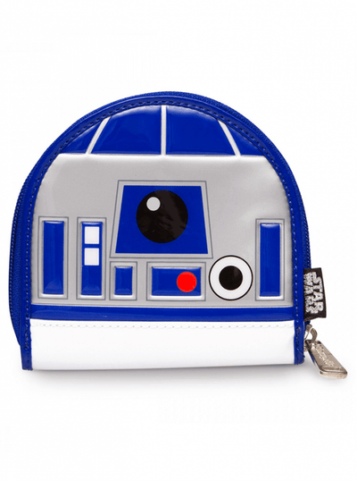 """R2D2"" Patent Coin Bag by Loungefly (White) - www.inkedshop.com"