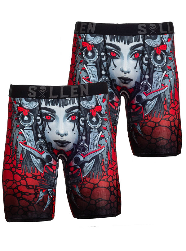 Men's Ra Boxers by Sullen