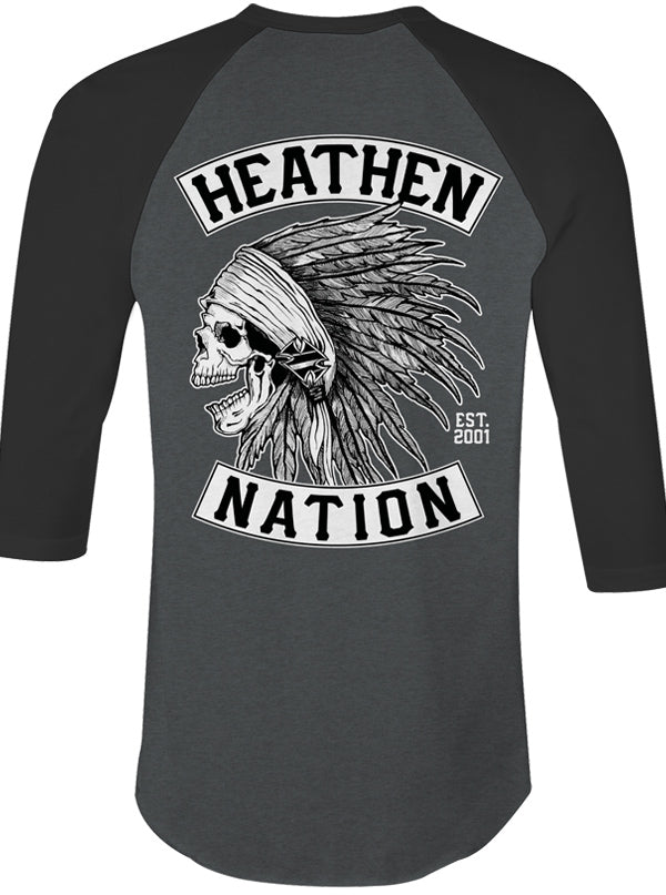 Men's Chief Raglan Tee by Heathen