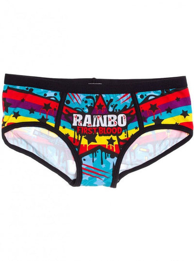 "Women's ""Rainbo: First Blood"" Period Panties by Harebrained - www.inkedshop.com"