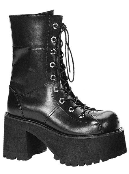 Ranger 301 Vegan Leather Heel by Demonia