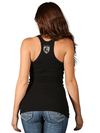 "Women's ""2 of a Kind"" Racerback Beater by OG Abel (Black) - www.inkedshop.com"