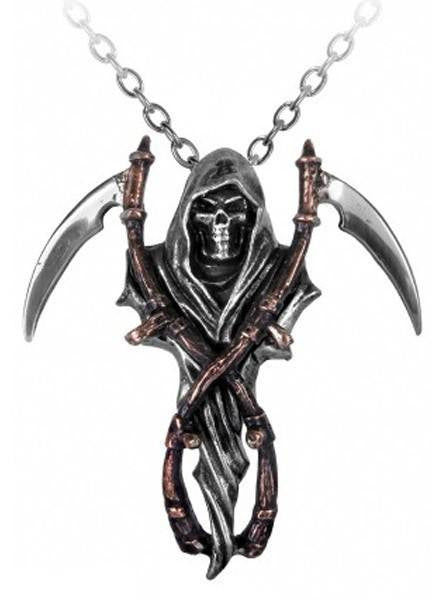 "The ""Reapers Arms"" Necklace by Alchemy of England - InkedShop - 1"